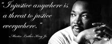 Martin Luther King's vision was justice for all.  Royal Furgeson has stripped justice from Jeff Baron
